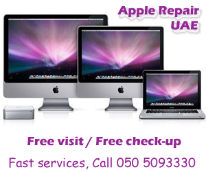 Apple Mac Repair in Dubai