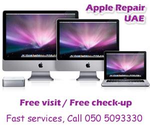 Apple Mac Repair in Dubai